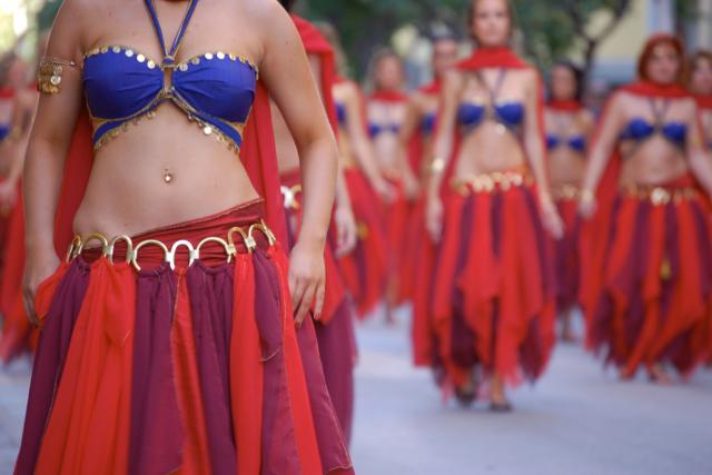 Les danses orientales, passion de Jocelyne Lorthiois